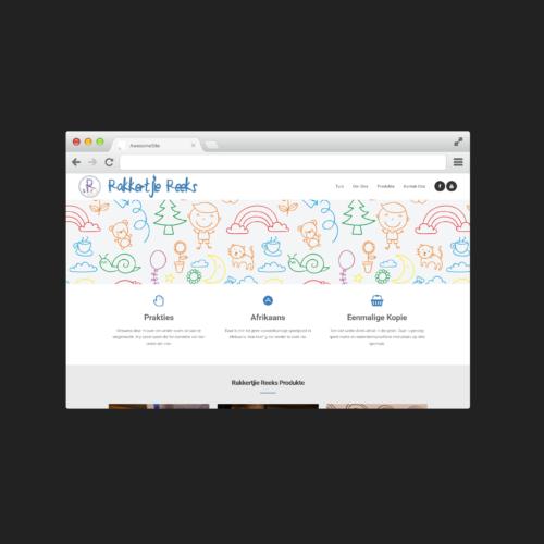 Rakkertjie Reeks - Website Design