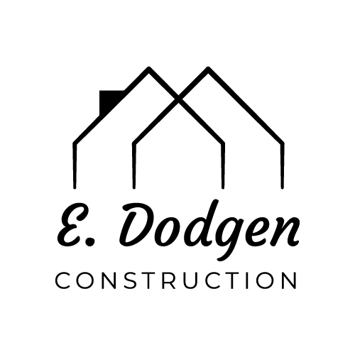 E Dodgen Construction Logo Design