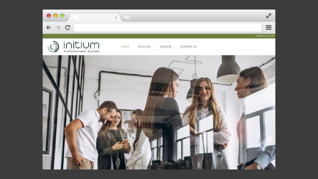 Initium Website Design