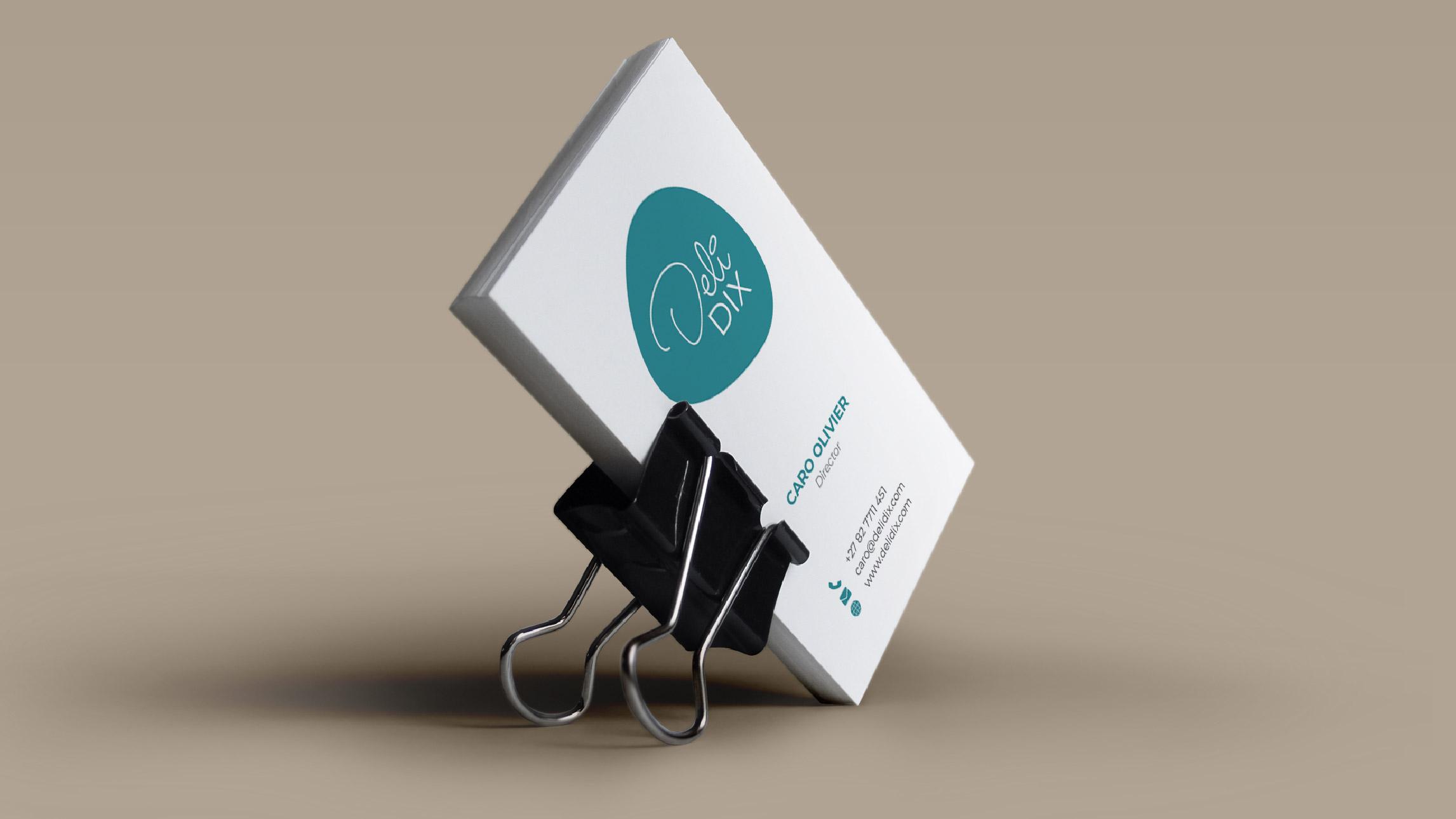 DeliDix - Business Card Design