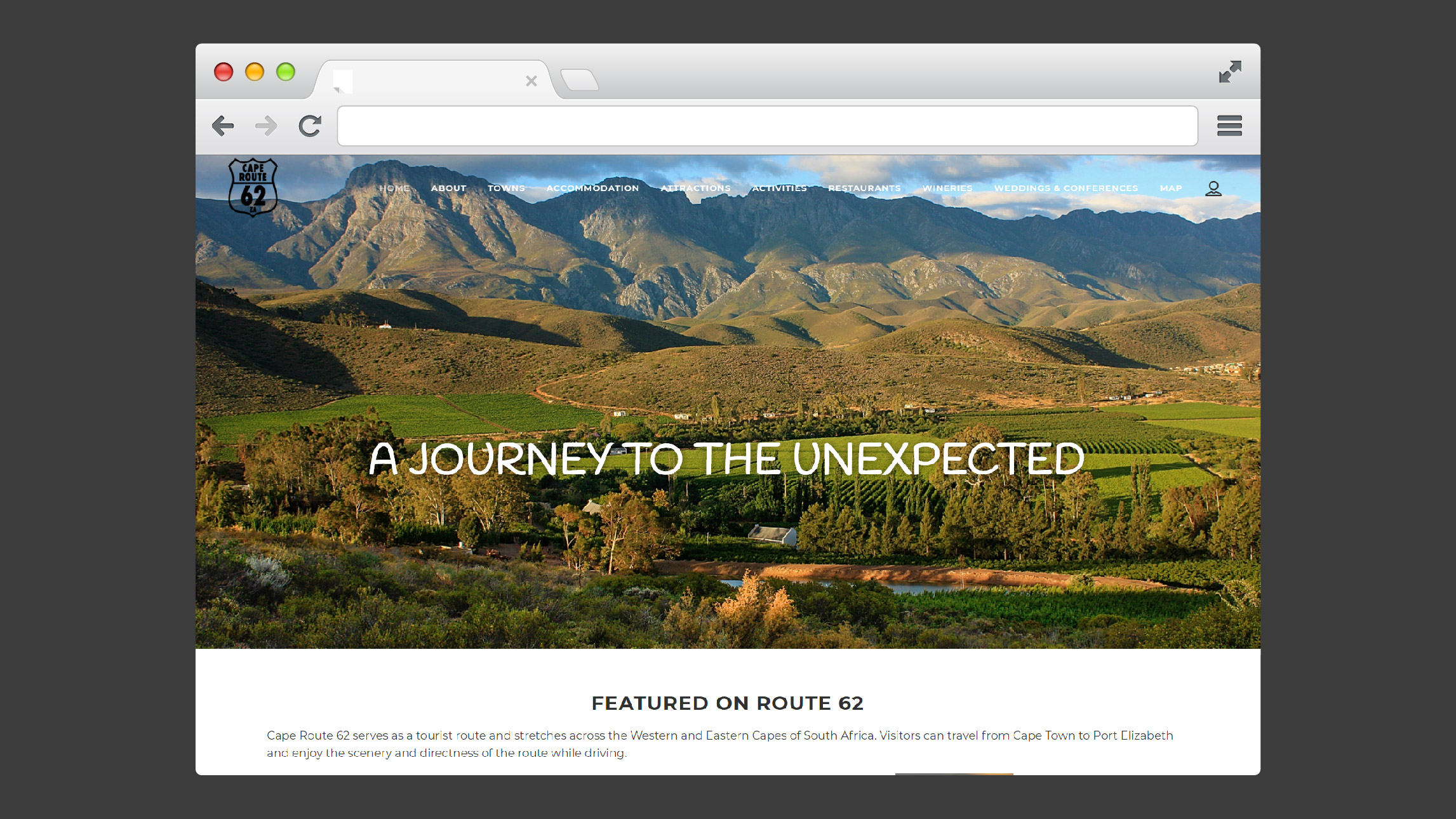 Route 62 - Website Design